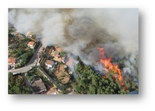 Risk analysis of fire in the wildland-urban interface
